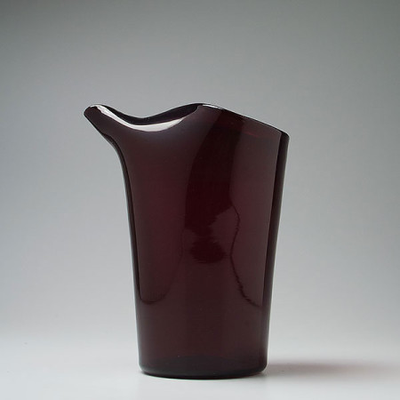 gio-ponti-venini-murano-red-cocktail-pitcher